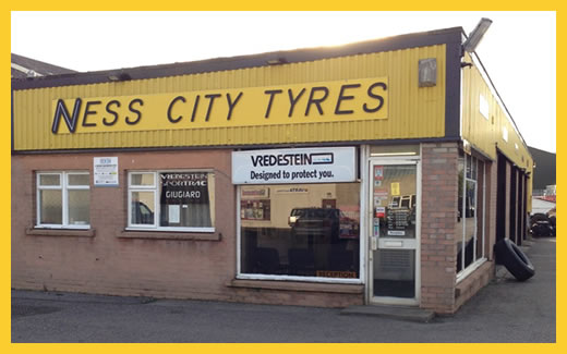 Ness City Tyres Office